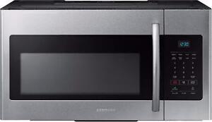 Micro-ondes Hotte Intégrée 1.6 pi³ Acier Inoxidable Samsung ( ME16H702SES )
