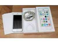 I phone 5s unlocked phone with box.