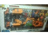 Construction play set power full machine