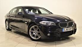 BMW 5 SERIES 2.0 520D M SPORT 4d 181 BHP + 1 PREVIOUS OWNER FROM NEW (black) 2010