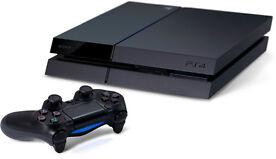 Sony PlayStation 4 - 500GB Jet Schwarz Spielkonsole