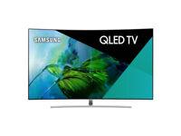 Samsung QLED QE55Q8CAMTXXU 55 inch Ultra HD 4K QHDR 1500 Curved TV