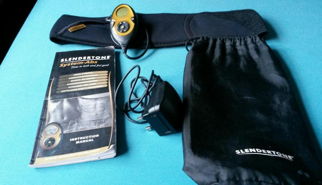 Slender Tone Abs System Belt Complete With Bag And Full