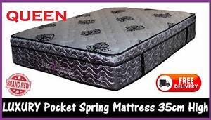 BRAND NEW Queen Mattress Wave Foam Pillow Top DELIVERED FREE New Farm Brisbane North East Preview