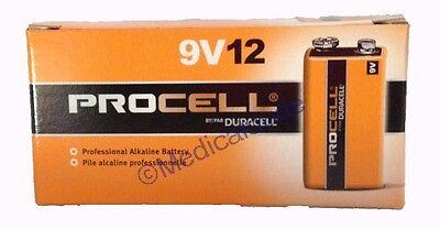 Duracell Procell 9V 9 VOLT Alkaline Batteries 12 (1 BOX OF 12)
