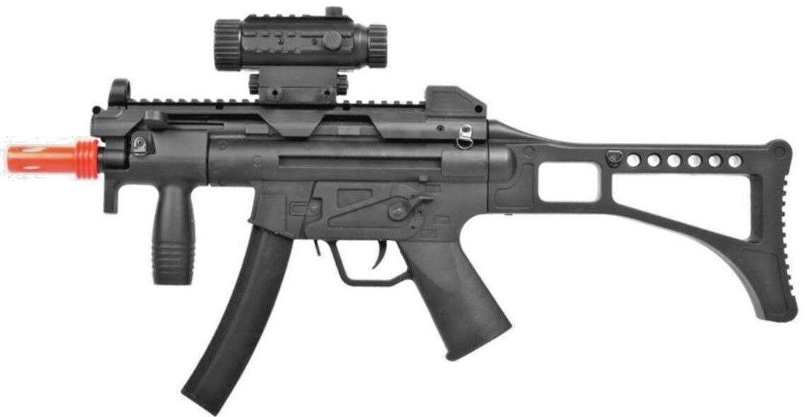 WellFire Airsoft Gun Mod 5 MP5 Electric PDW Rifle AEG Foregr