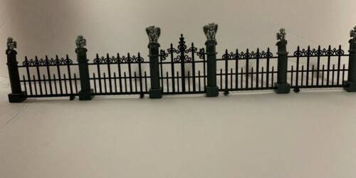 Lemax Spooky Town Gargoyle Fence Set of 5 # 44139 multiple sets available