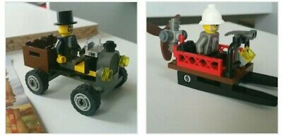 LegoOrientExpeditionAdventures7424 BlackCruiser and 7423 MountainSleighSets