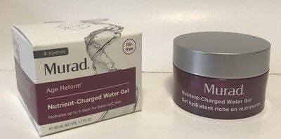 50 Ml Water - Murad Age Reform Nutrient-Charged Water Gel 50ml 1.7 FL OZ FACTORY SEALED BOX