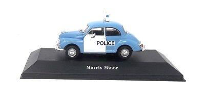 Atlas Model car DieCast 1/43 Morris Minor Police UK 1957
