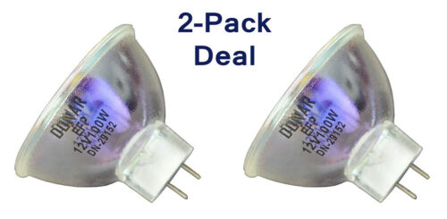 2pcs American DJ Prismatic Pulsator Roto-Gobo Saga 2 Sidewinder ZB EFP 100W bulb