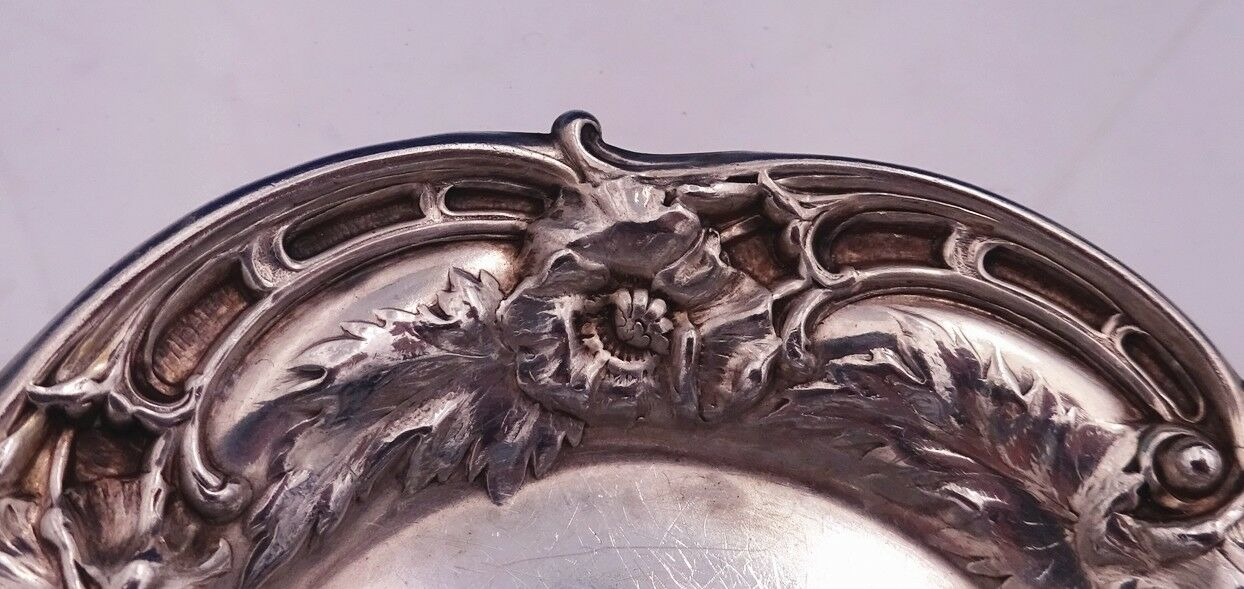 Les Cinq Fleurs by Reed and Barton Sterling Silver Butter Pick Twisted Custom