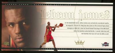 2003 Upper Deck Box Set Jumbo #LJ1 Lebron James