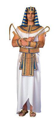 PHARAOH COSTUME EGYPTIAN KING TUT SPHINX KHUFU TUNIC - King Tut Kostüm
