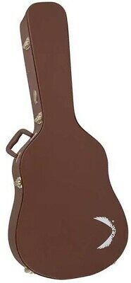 Dean Dreadnought Acoustic Guitar Hardshell Protective Hard Case Exotica Brown