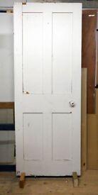 Reclaimed Victorian pine shaker door