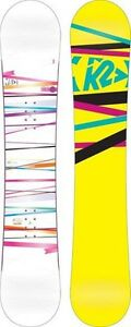 K2 women's snowboard MINT