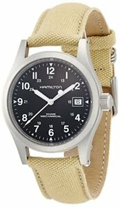 HAMILTON - MEN'S KHAKI FIELD MECHANICAL - H69419933