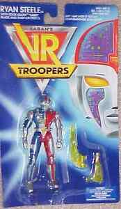 Ryan Steele  Action Figure Brand New Factory Sealed Kenner Saban's VR Troopers