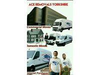 Ace Removals & Storage 2 man and van house removers van hire York Removals Company Fully Insured