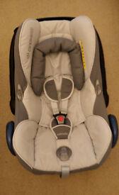 Maxi Cosi CabrioFix Car Seat Grey
