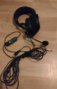 Turtle Beach Ear Force X12 Amplified Gaming Headset
