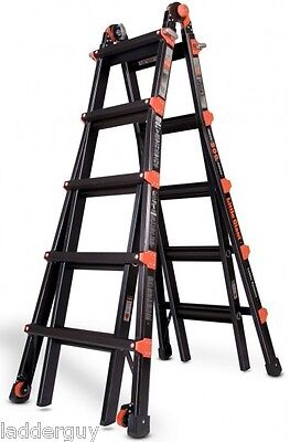 22 1a Little Giant Ladder Black Pro Series Lifetime Warranty W 5 Accessories