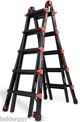 22 1a Little Giant Ladder - Pro Series W Platform Wheels 10103bp