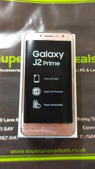 SAMSUNG J2 PRIME 8GB UNLOCKED BRAND NEW