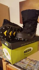 NEOS Explorer Stabilicer XXL OVER SHOE/BOOT WITH STUDS Peterborough Peterborough Area image 1