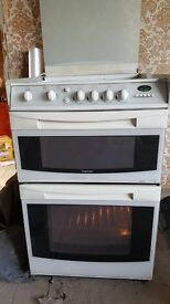 Stove with double oven Cannon Camberley