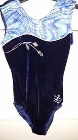 Milano Size 30 Girls Gymnastics Leotard and shorts