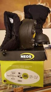 NEOS Explorer Stabilicer XXL OVER SHOE/BOOT WITH STUDS Peterborough Peterborough Area image 2