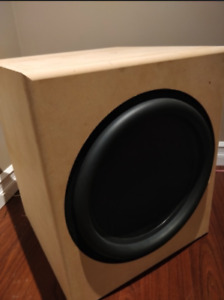 "Sealed Dayton Ultimax um18-22 18"" subwoofer @ The ultimate sub"