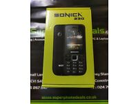 SONIKA 230 - UNLOCKED TO ALL NETWORKS - BRAND NEW