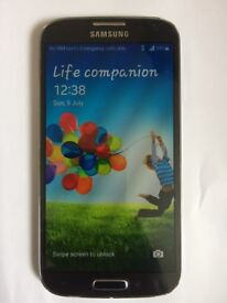 Samsung Galaxy S4 in Perfect Working Order (UNLOCKED)