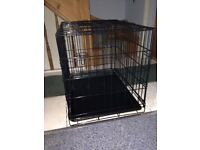 Metal Great and Small Puppy Crate