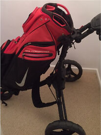 Nike Golf bag & Trolley