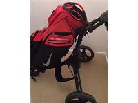 Nike Golf bag & Trolley