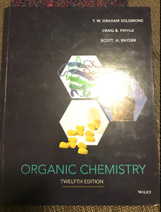 ORGANIC CHEMISTRY 12TH EDITION and ORGO LAB MANUAL KIT