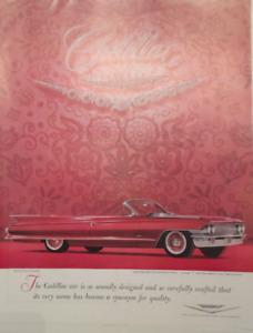 ORIGINAL 1965 CADILLAC AD