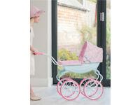 Baby Annabelle Carriage Dolls Pram