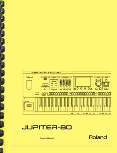 Roland Jupiter 80 Complete 6-in-1 OWNER
