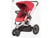 Quinny buzz red pram reasonable offers please