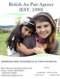 We have Available Au Pairs & Mothers help for January Starts