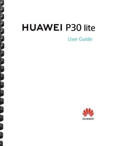 Huawei P30 Lite Cell Phone USER GUIDE OWNER