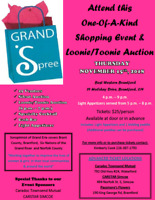 Soroptimist Grand Spree One of a Kind Shopping Event