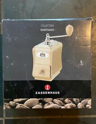 Zassenhaus coffee grinder Santiago collection - literally used once.