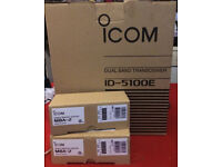 Icom 5100e Deluxe with Blutooth fitted + 2 X MBA-2 Mounts Boxed.