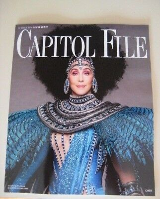 2017 Cher Cover New Capitol File Washington Dc Tour Cher Classic
